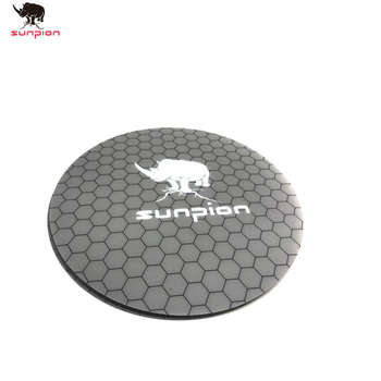 3D Printer Heat bed Sticker With Tape 200mm Round Print Build Plate Tape For Kossel 3D Printer image