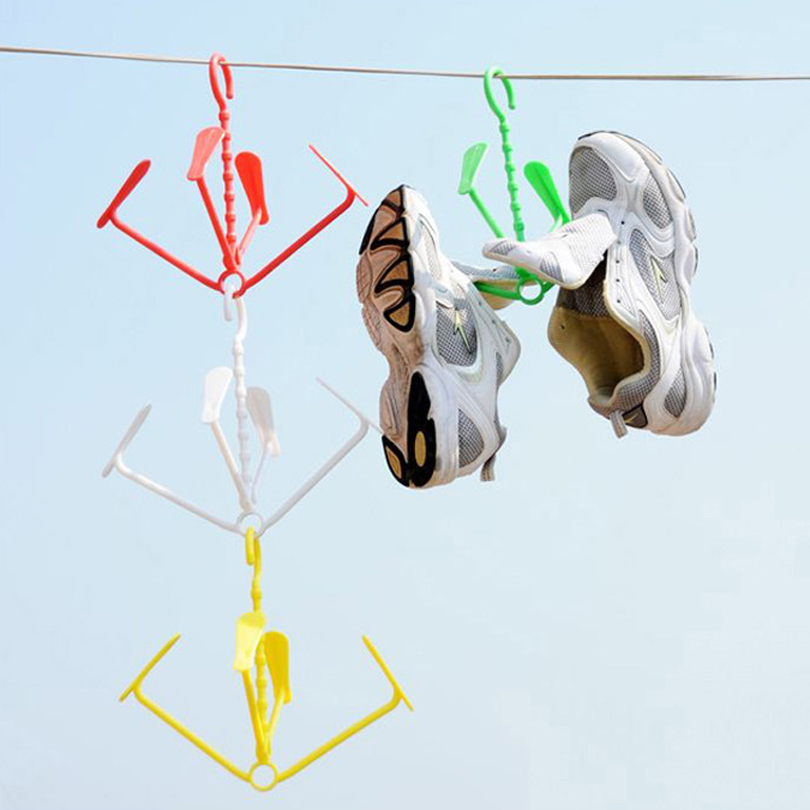 5 Adet / grup İşlevli yaratıcı Ayakkabı raf kurutma rafları - Mobilya - Fotoğraf 3