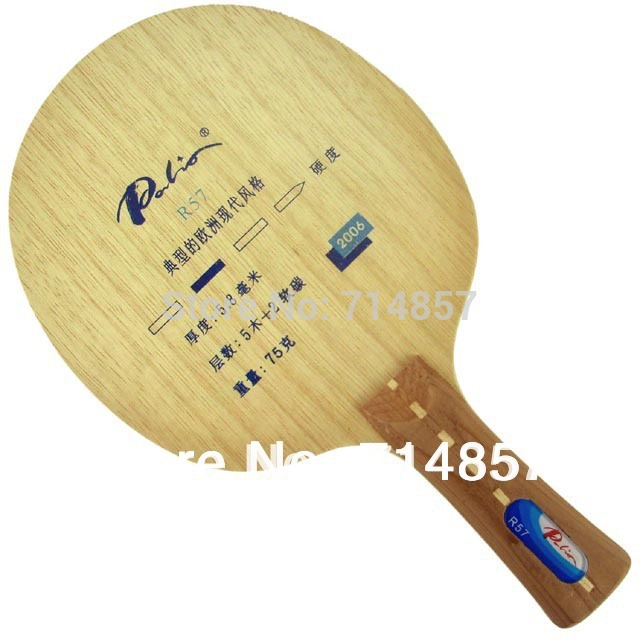 Original Palio R57 Soft Carbon Table Tennis Ping Pong Blade
