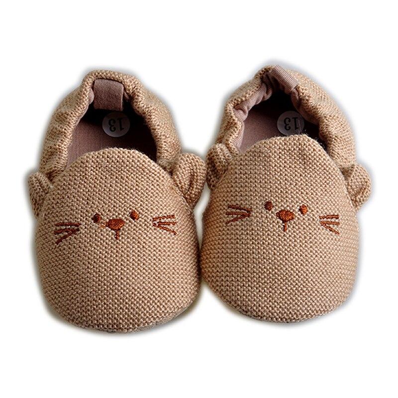 2017 סגנון חדש נעלי נעלי תינוק נעלי תינוקות חורף כותנה רכה תינוק הראשון ווקר בייבי בוי פעוטות לשמור על נעליים עבות חמות