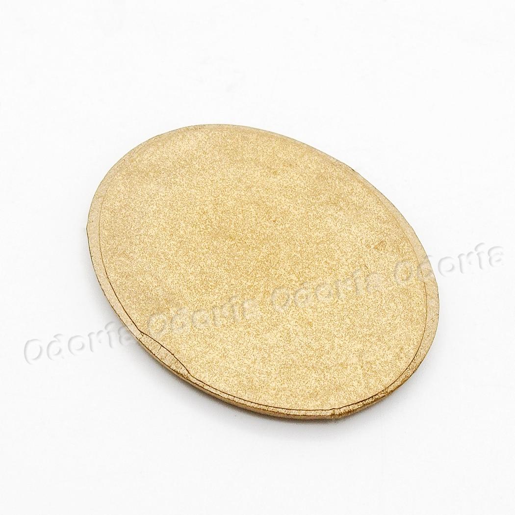 Odoria 1:12 Miniature Oval Wall Mirror Gold Frame Dollhouse ...
