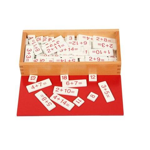 montessori matematica brinquedos de madeira montessori adicao