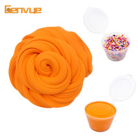 Fluffy Foam Cotton Slime Charms Soft Clay Supplies Fun Box Cotton Cloud Slime Relief Antistress Polymer Craft Mud Toys for kids
