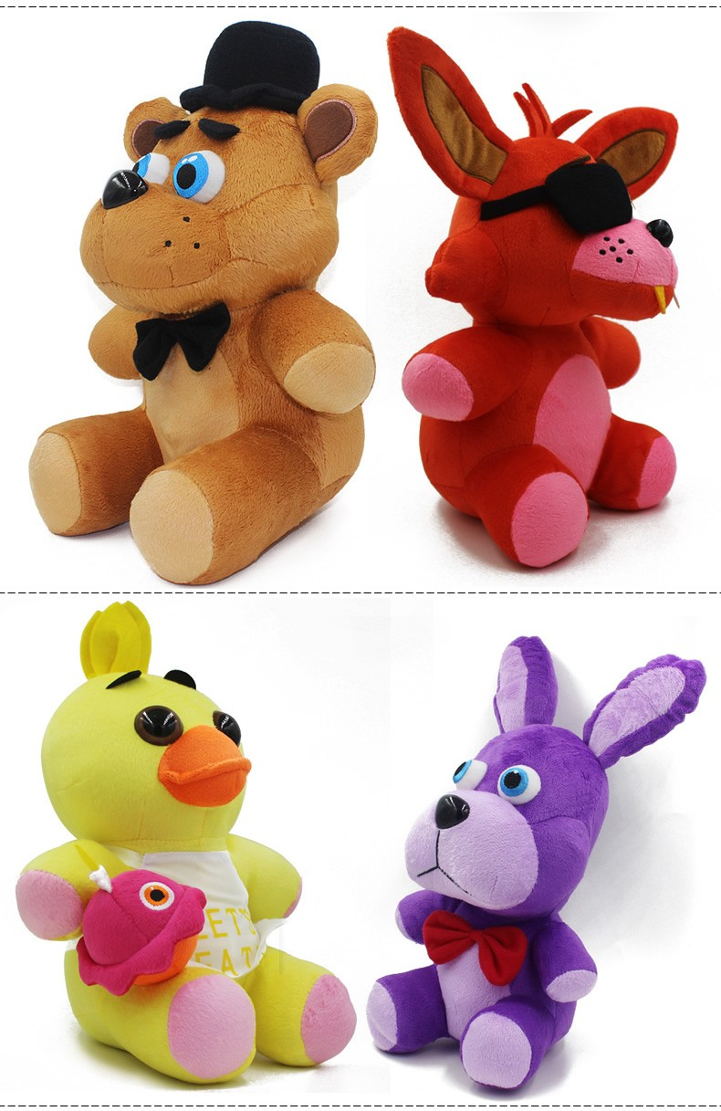 Anime Five Nights At freddy Foxy Anime Pokemon Plush Toys  High Quality Christmas Toys Kids Toys For Girls (1)