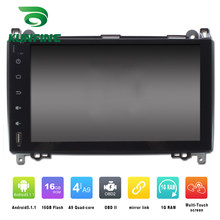 Octa Core 1024*600 Android 6.0 Mobil DVD GPS Navigasi Multimedia Player Mobil Stereo untuk Benz a-class W169 2004-2012 Radio WIFI(China)