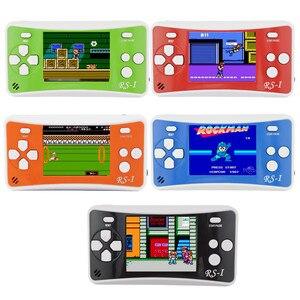 Image 1 - 2,5 дюймовая портативная игровая консоль в классическом ретро стиле, игровая консоль со встроенными 89 играми для детей, игровая консоль, используемая для телевизора PAL AAD NTSC