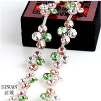 Rhinestone Chain Yard Colorful Cristais Chain Crystals Stones Crafts Glass Stones And Crystals Diy Stone Rhinestones Clothes