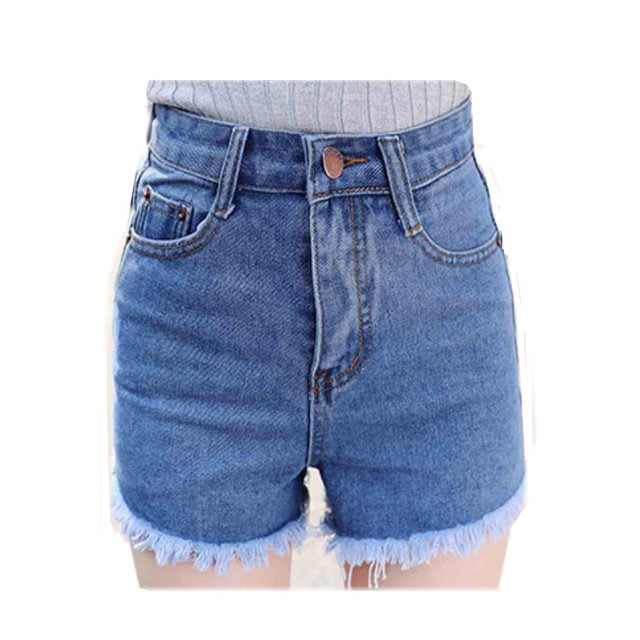 Newly Sexy shorts women Tassel Slim shorts jeans Fit Denim Jeans Shorts female high waist Regular shorts jeans feminino HS1615
