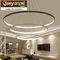 Qiseyuncai Post Modern Aluminium Alloy Multiple Ring Acrylic Material Personality Light Dome Light Brief Originality A