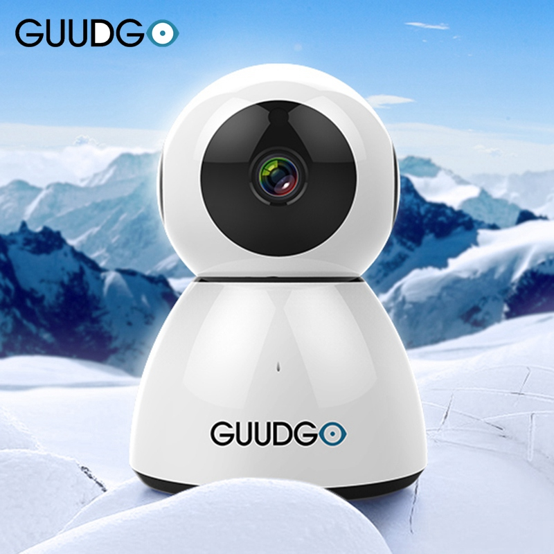 GUUDGO GD SC03 Snowman 1080P Camcorder Cloud WIFI Night Vision Twoway Audio IP Motion Detection Camera