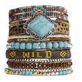 New Style Bohemia Summer HIPANEM Bracelet Handmade Beach Bracelet Magnetized Brazilian Glamour Jewelry Wholesale HIP228