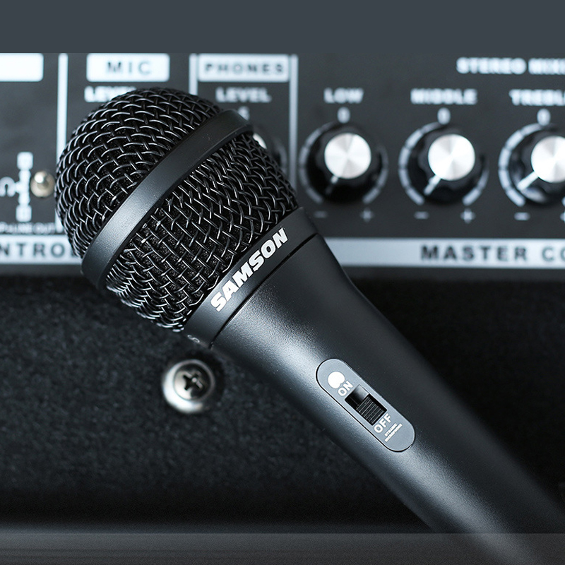 Samson Shannon R10S microphone à anneau mobile à main guitare chantant chant enregistrement vocal microphone