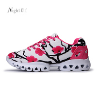 Night Elf men women running shoes high qulaity sport shoes for women breathable 2017 summer couples jogging trainers sneakers