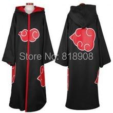 Наруто косплей акацуки орочимару учиха мадара саске итачи пейн одежда костюм плащ накидка ветер пальто пыли