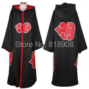 Naruto Cosplay Akatsuki Orochimaru uchiha madara Sasuke itachi Pein Clothes Costume cloak cape wind Dust Coat