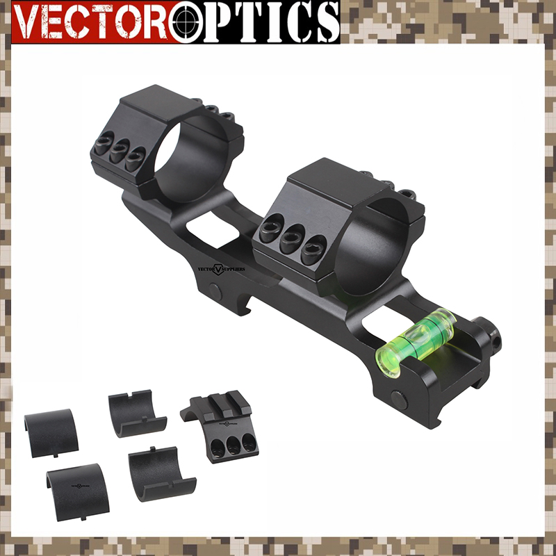 Vector Optics 30mm One Piece Extra Light ACD Scope Mount Anti Cant Device ACD Bubble Level Mount W/ 1