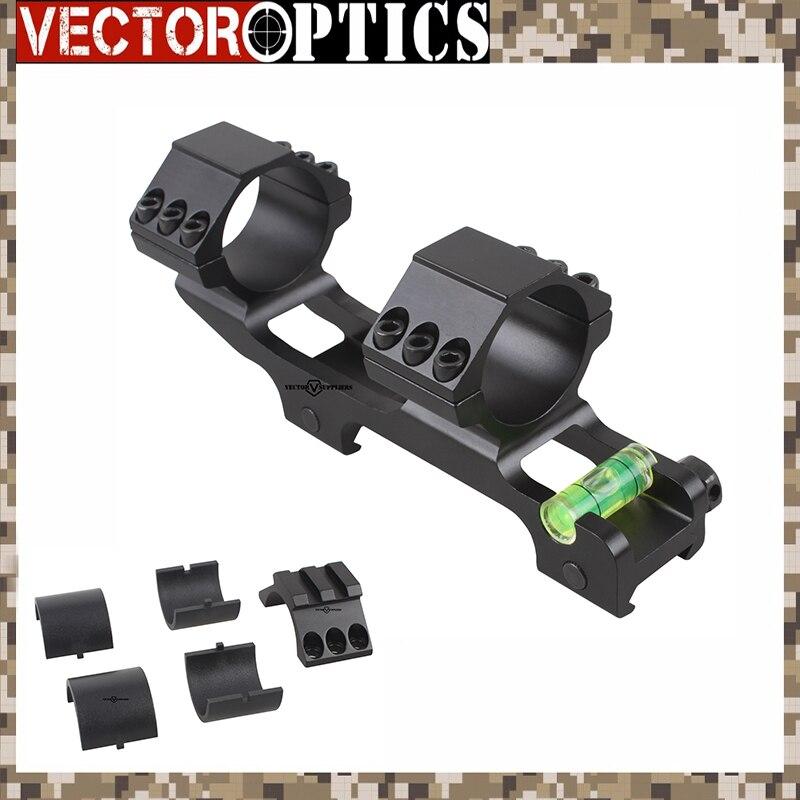 Vector Optics 30mm One Piece Supplémentaire Lumière ACD Portée Mont Anti Cant Dispositif ACD Bulle Niveau Mont w/1 adaptateur 139mm 5.5