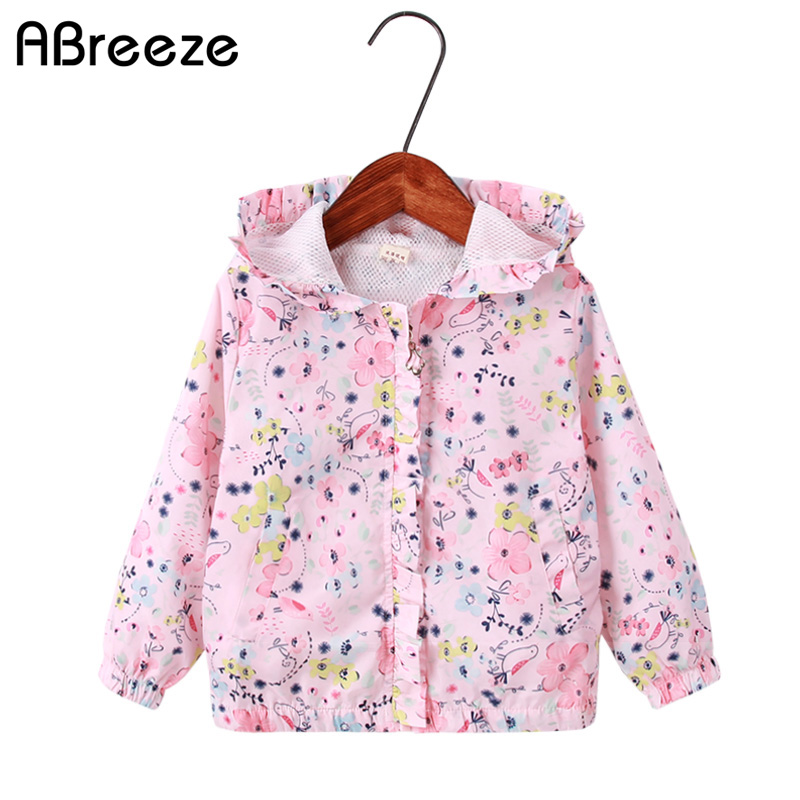 272e4be9d Cute girls clothes 2018 Spring Kids Unicorn Jacket For Girls ...