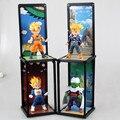 Dragão BallZ Q versão Figuras Goku Piccolo Vegeta Trunks PVC Action Figure Model Collection Toy 10 CM 4 pçs/set frete Grátis