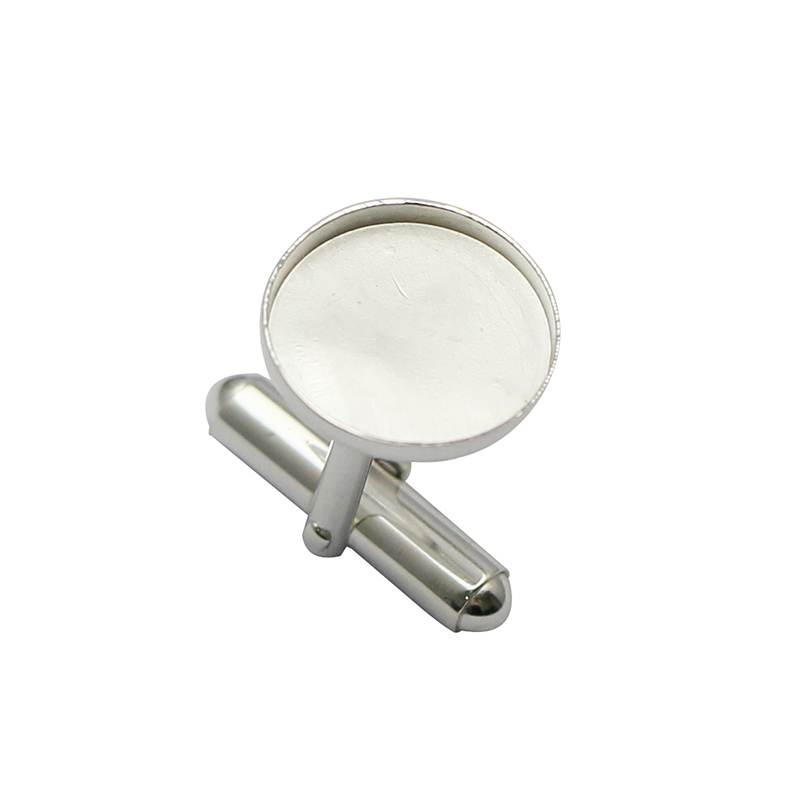 Beadsnice 925 Sterling Silver 14mm Cufflinks Base Handmade Jewelry Diy Gift For Her ID37363
