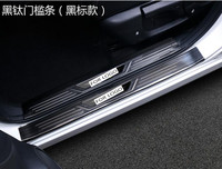 ACCESSORIES FIT FOR NISSAN QASHQAI J11 2014 2015 2016 REAR BUMPER PROTECTOR STEP PANEL BOOT COVER SILL PLATE TRUNK DECK TRIM Chromium Styling     -