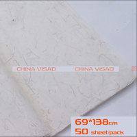 Chinese painting paper, Chinese Rice paper & yunlong xuan paper,50 sheets/pack 69*138 cm,free shipping