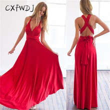 Vestidos De Fiesta New 2017 Sexy Women Maxi Dress For Multiway Convertible Party Dresses Wedding Bridesmaid Long Robe Vestidos