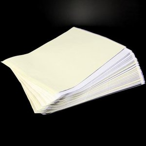 Image 4 - Conjunto 100 tatuagem térmica estêncil transferência papel copiadora a4