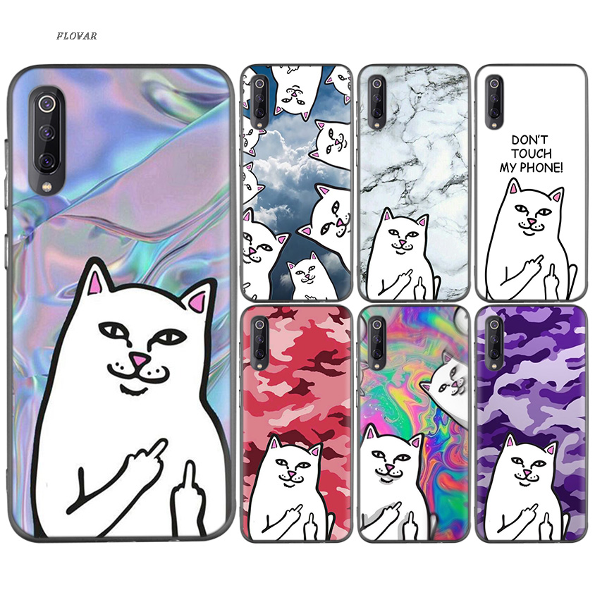 Cellphones & Telecommunications Fitted Cases Cartoon Middle Finger Black Tpu Printed Case For Xiaomi 9 8 A2 Lite A1 Play Xioami Redmi Note 7 6 5 Pro 4x 4 5plus Go Cover As Effectively As A Fairy Does