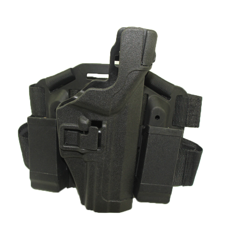 HK USP Serpa Tactical Holster Caza Disparos PlatformFree Pierna Del Muslo Airsof