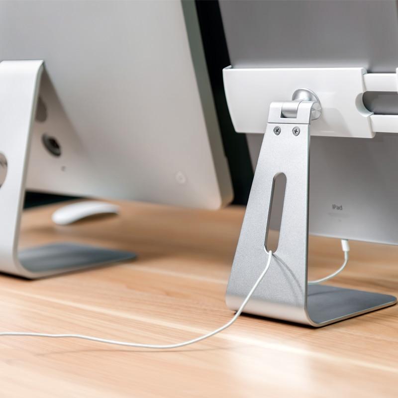 Alüminyum alaşım 360 rotasyon görüş açısı ipad pro yüzey - Tablet Aksesuarları - Fotoğraf 3