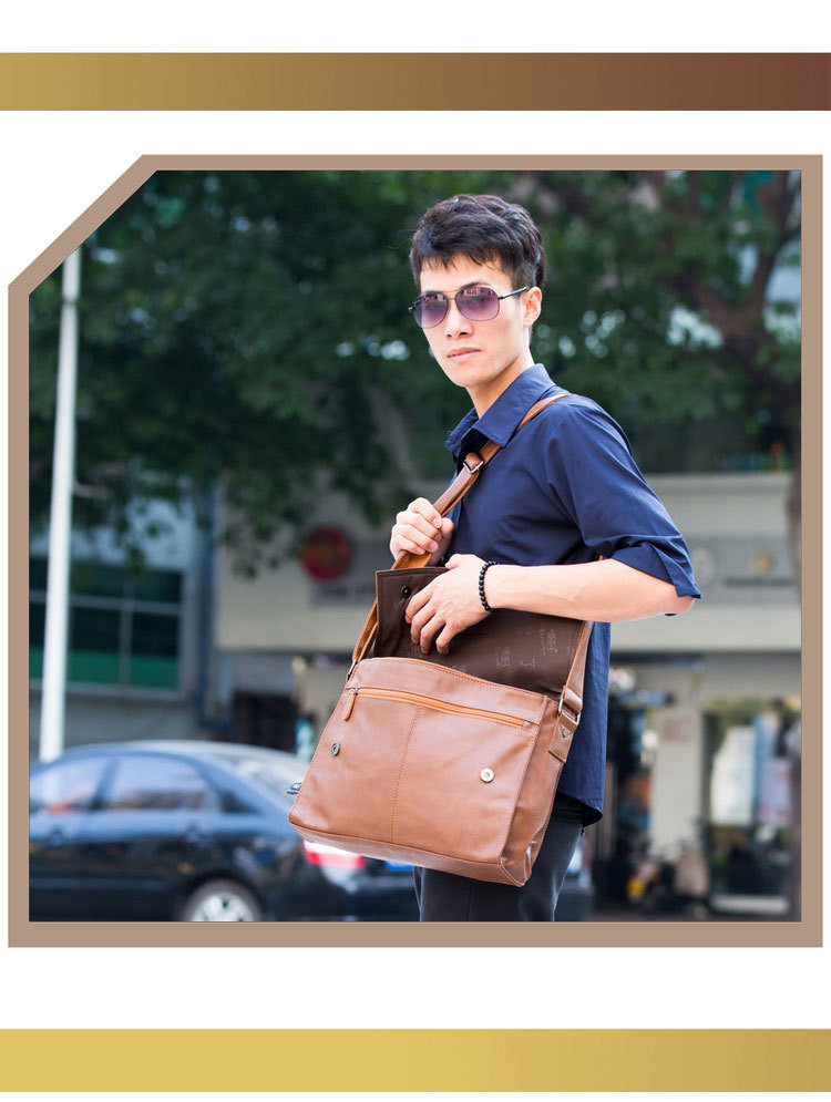 отдыха. Мужская диагональю сумка. 15