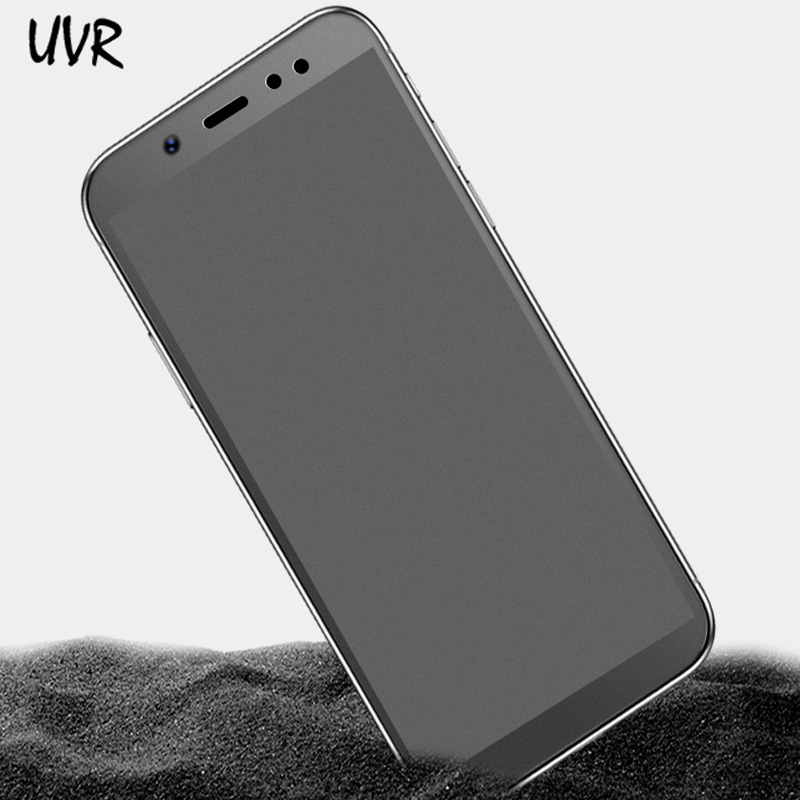 UVR Matte Glass For Xiaomi Redmi Note 6 Pro 5 5A Prime Frosted Tempered Glass Screen Protector For Redmi S2 Note 4 4X 3 Pro 2