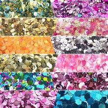 10gram Holographic Sequins Glitter Shimmer Hexagon 12 Colors Eye Shiny Skin Highlighter Face Body Festival Makeup MA0255