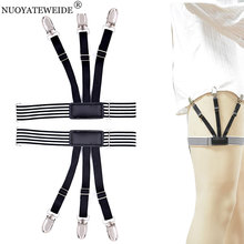 Male shirt holder Adult Tirantes Hombre Braces for Women Suspensorio Shirt Suspenders Bretelles Hommes Strap Jartiyer Holder