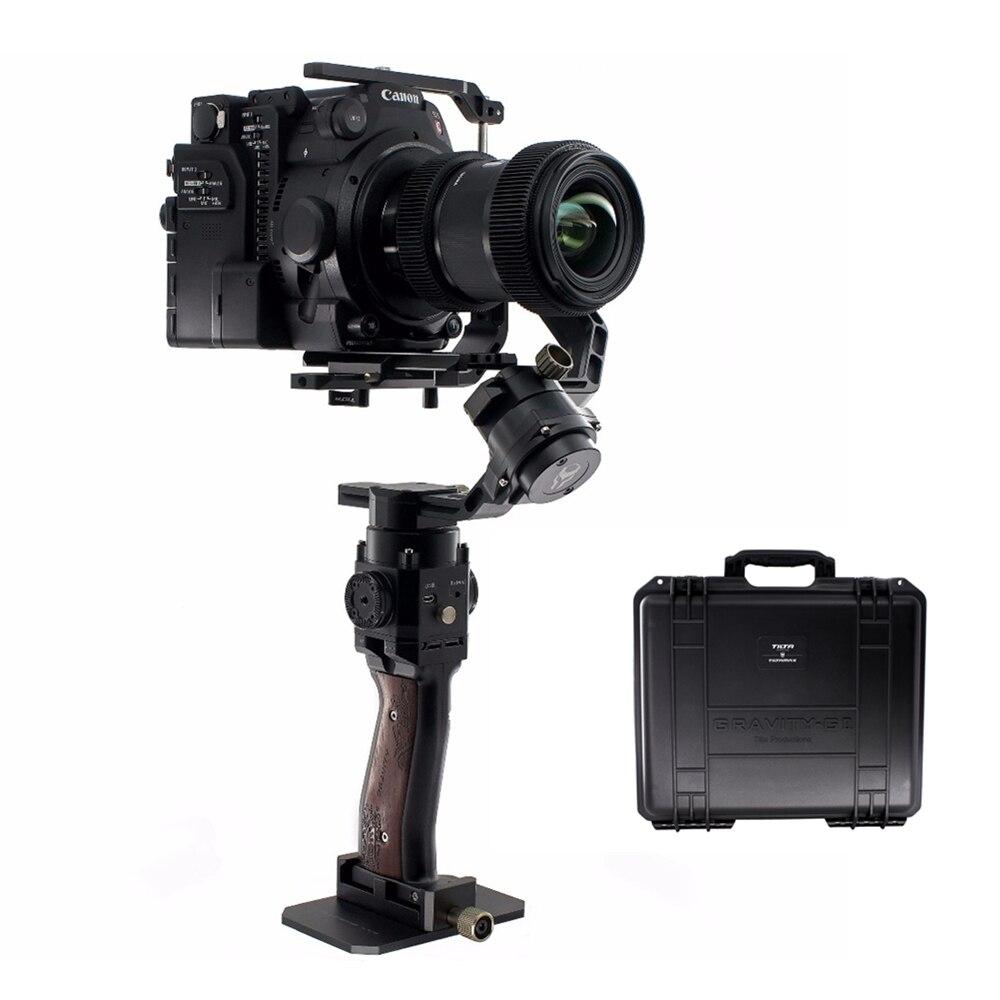 TILTA MAX G2 G2X GR-V02 3-Axis DSLR Handheld Gimbal Stabilizer load 3.5KG Case for SONY CANON Mirrorless DSLR A7 GH5 5D3 5D4
