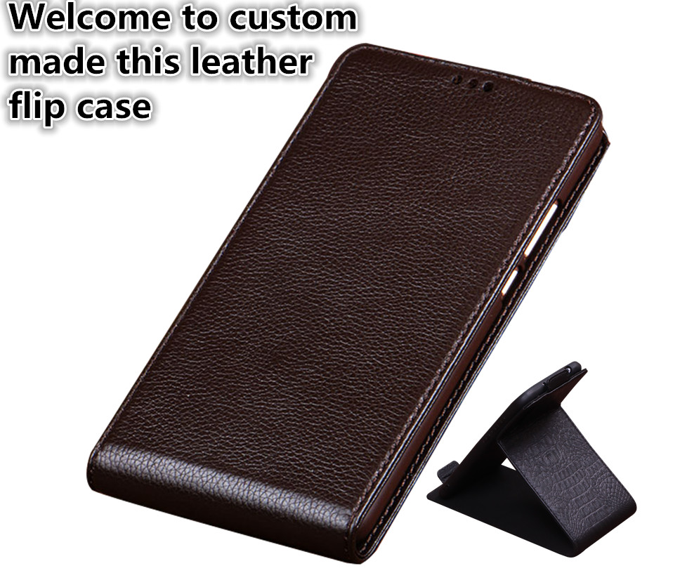 RL05 Genuine Leather Vertical Flip Case For Asus ZenFone 3 ZE520KL Vertical Phone Up And Down Cover For Asus ZenFone 3 ZE520KL