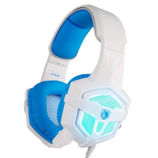 Glow LED Light Gaming Headset