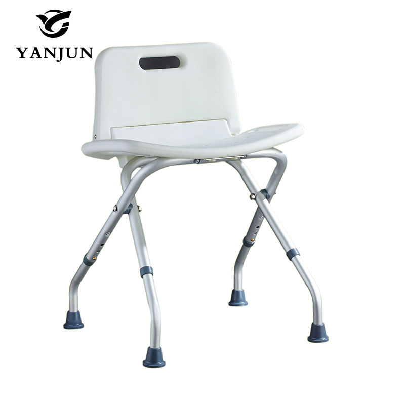 YANJUN Folding  Bath and Shower Seat Shower Bench Bathroom Safety Shower Chair Tub Bench Chair Saving Space  YJ-2052B premintehdw abs wall mount bathroom folding seat fold up seats shower rv seat