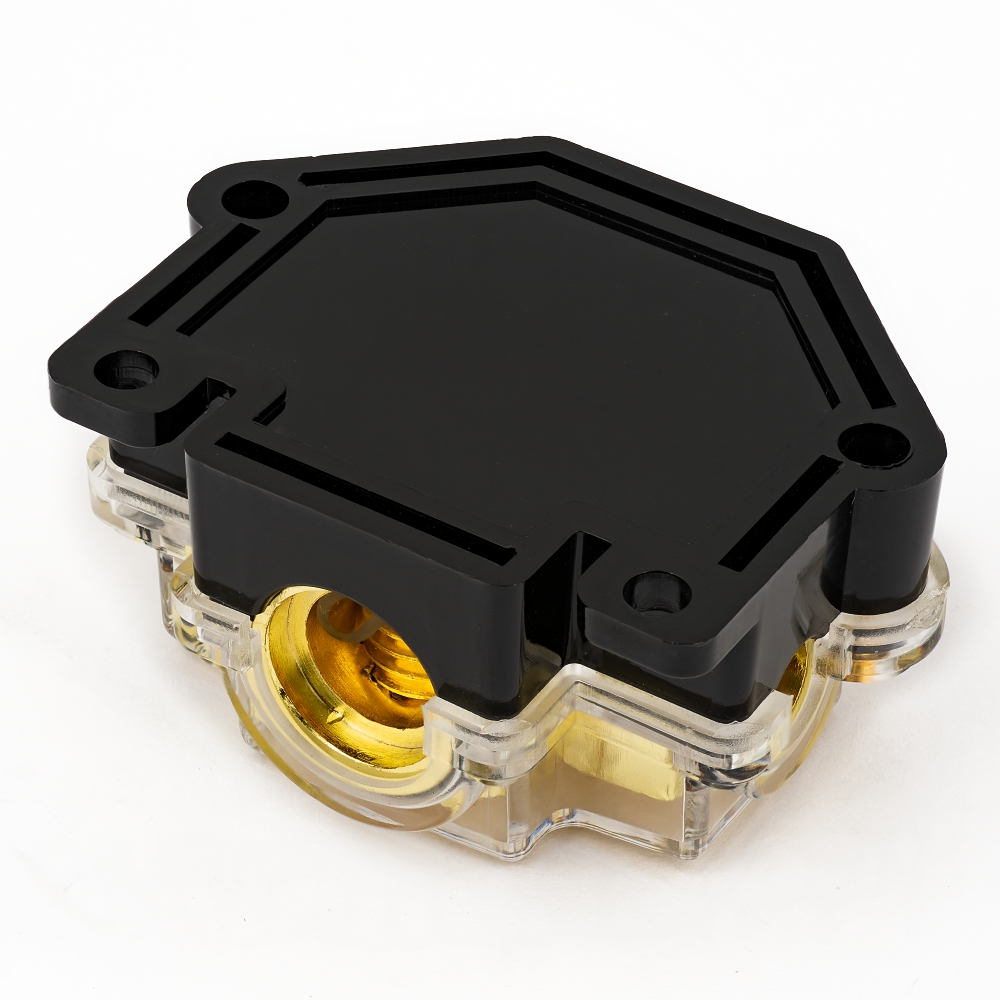 medium resolution of car audio fuse box amplifier 5 channel power distributor block fuse holder 1 in 2ga 1x 4ga2 x 8ga2 in fuses from automobiles motorcycles on