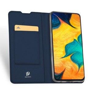 Image 3 - DUX DUCIS Flip Leather Case For Samsung Galaxy A30 A50 A40 Wallet Book Cover for Samsung A30 A50 A70 A20 A20e A10 A10S A40 2019