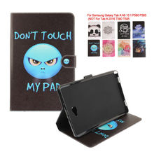 Case Cover For Samsung Galaxy Tab A A6 10.1 P580 P585 (Not T580) Stand PU leather Covers Protective Skin Cases KF433D