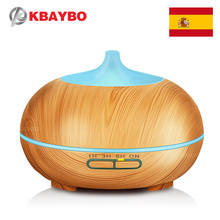 300ml Ultrasonic Humidifier Essential Oil Diffuser Aroma Lamp Aromatherapy Electric Aroma Diffuser Mist Maker Wood grain  цена и фото