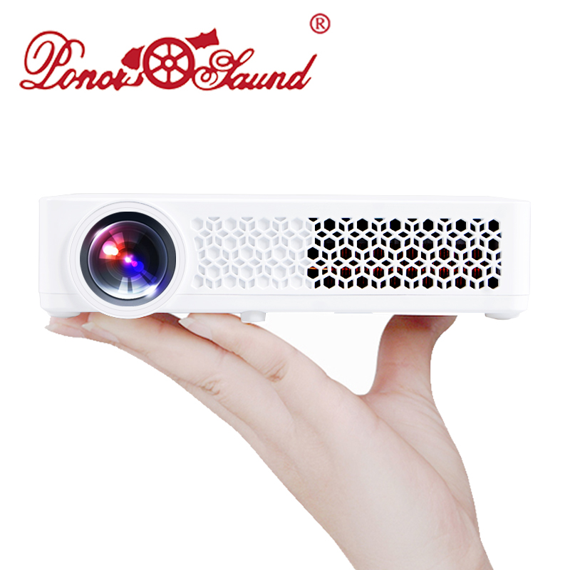 Poner Saund Full Hd New Mini Projector Proyector Led Lcd: Aliexpress.com : Buy Poner Saund DLP800W Mini Proyector