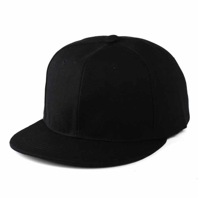 d2f8b8c4f Men Women's Adjustable Blank Flat Bill Plain Snapback Cap Hats Black Blue  Gray Khaki Dark Green Navy Purple Brown etc.