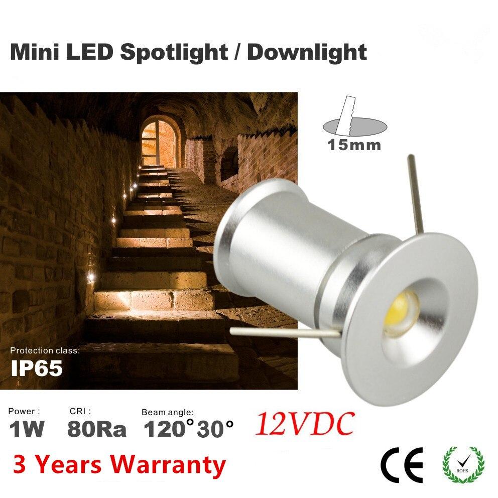 9pcs1w solar power spot light 1w mini spot light, warm white natural spot light 1W 12VDC 30D20D 15mm cutting wholesale