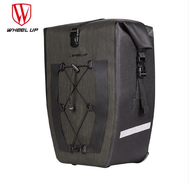 WHEEL UP Waterproof Large Capacity MTB Mountain Road Bike Cycling Rear Rack Seat Bags Bicycle Pannier Bag Cycle Accessories wheel up bicycle rear seat trunk bag full waterproof big capacity 27l mtb road bike rear bag tail seat panniers cycling touring