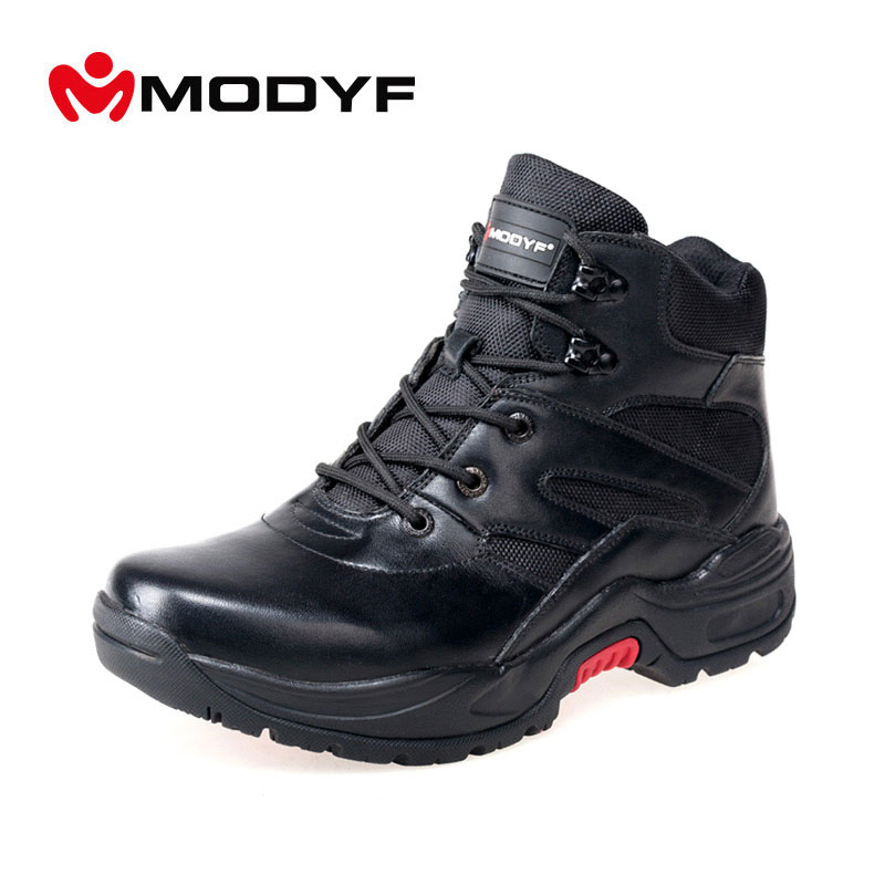 Free shipping men army boots Puncture proof winter outdoor shoes Fashion Martin boots bicycle casual safety footwear