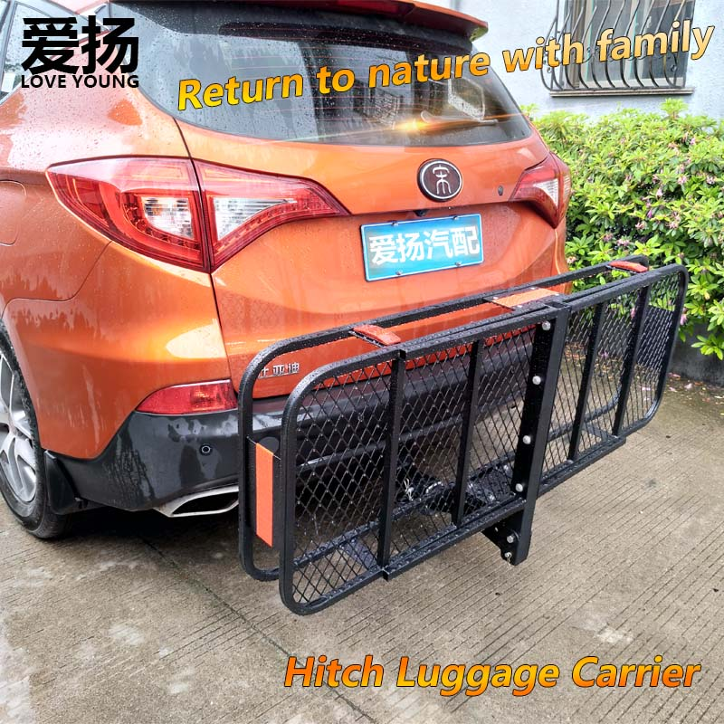 Love Young SUV cross-country modification car rear luggage frame hitch mount luggage carrier/Trailer frame On-board cargo rack