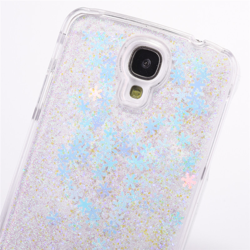 Snowflake Clear Samsung Galaxy S4 Case 10